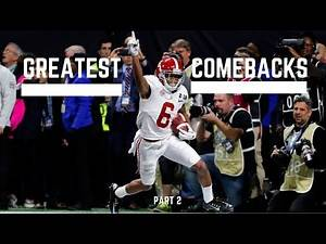 Greatest Comebacks in College Football History (Part 2)
