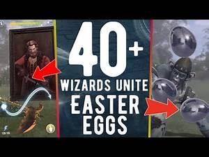 Harry Potter: Wizards Unite - EVERY Harry Potter EASTER EGGS & REFERENCES!