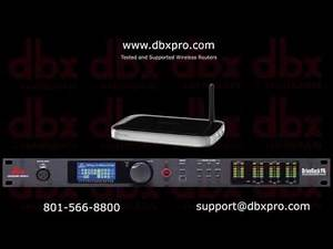 Digital Audio Manager DBX- DRIVERACK PA2 Wireless Network Video | DJSHOP.GR