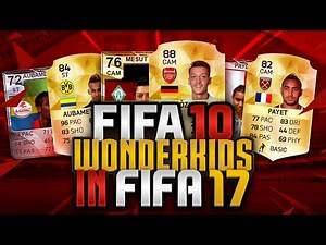 FIFA 10 WONDERKIDS - WHAT ARE THEY IN FIFA 16!!! CRAZIEST PLAYER CHANGES