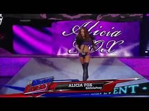 WWE Main Event Alicia Fox Vs Emma 2014