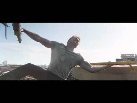 Captain America: Civil War: Cap Stops Bucky's Helicopter Movie Clip