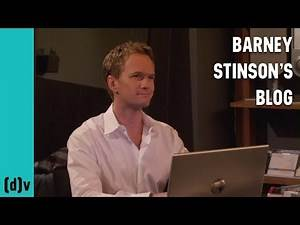 Barney Stinson's Blog - How I Met Your Mother