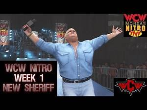 WWE 2K19 WCW NITRO WEEK 1 NEW SHERIFF