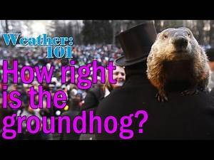 Weather 101: How often is the groundhog right?