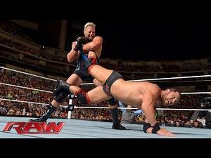 Jack Swagger vs. Curtis Axel: Raw, Sept. 1, 2014