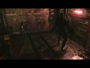 Resident Evil 0 - Tyrant Boss Fight - Hard/No Damage.