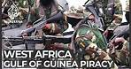 West Africa piracy: Regional navies face wave of maritime crimes