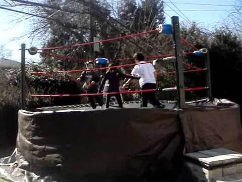 WWE Kids Wrestling: (Rampage Rumble) Part 2 10 Man Rampage Rumble Match