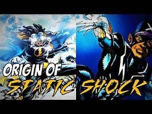 ORIGIN OF STATIC SHOCK │ Comic History