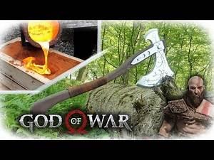 Making Kratos Axe - God Of War (Aluminum Casting)