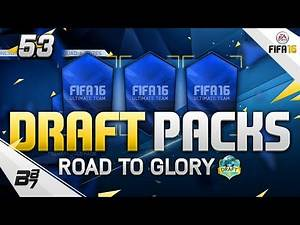 DRAFT TO TEAM OF THE YEAR! DRAFT PACK OPENING!   FIFA 16 ULTIMATE TEAM #53