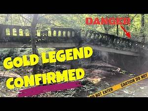 Abandoned Bridge Lost Gold Mystery | Metal Detecting | Abandoned Places | Equinox 800