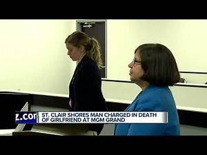 Bond denied for St. Clair Shores man charged in death of girlfriend at MGM hotel