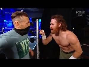WWE Smackdown 11/20/20 Daniel Bryan & Sami Zayn Full Backstage Segment