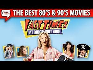 Fast Times at Ridgemont High (1982) - Best Movies of the '80s & '90s Review