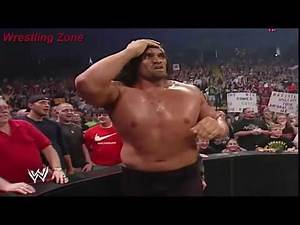 The Great Khali vs Rey Mysterio | Rey Mysterio Almost Died In The Ring| WWE RAW