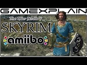 Unlocking the Zelda: BotW Equipment w/ amiibo in Skryim