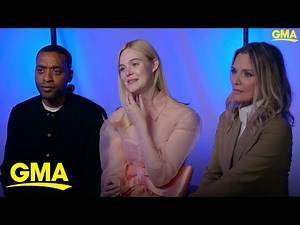 Elle Fanning explains why playing Aurora in Disney's 'Maleficent' is special to her l GMA Digital