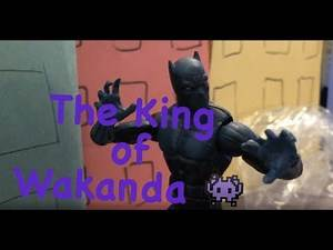 Black Panther Stop Motion short