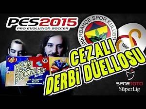 Fenerbahçe v Galatasaray ★ Kardeşimle beraber CEZALI DERBİ DÜELLOSU   STSL   PES 2015