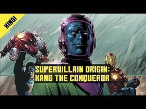 Supervillain Origins : Kang The Conqueror | Marvel Comic Character Explained In Hindi | ComikSpot
