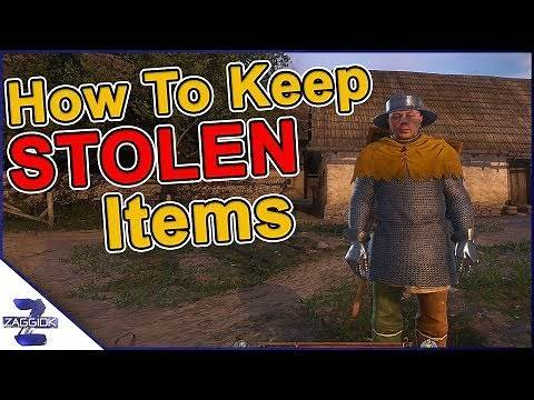 How to Keep Stolen Items from The Guards Kingdom Come Deliverance