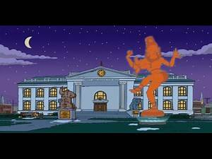 The Simpsons S23E09 point to September 23rd and Cern