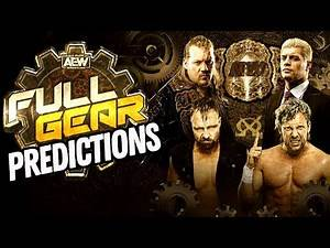 AEW Full Gear Predictions! Going In Raw Pro Wrestling Podcast