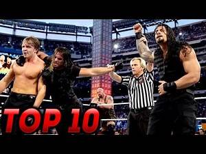 Top 10 WWE The Shield Matches