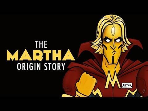 The Martha Origin Story - Justice League HISHE Bonus Features