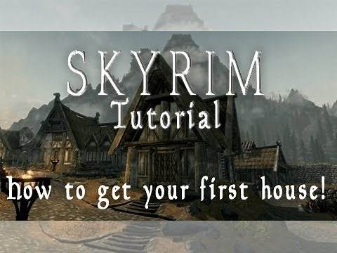 Skyrim Tutorial - How to get your first house! Whiterun - HD
