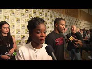 Black Panther - Letitia Wright Comic Con - 2017 Marvel Studios HD