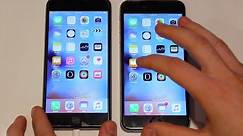 iPhone 6s Plus VS iPhone 6 Plus SPEED TEST!