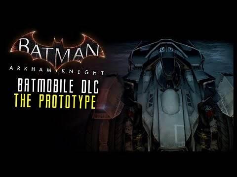 Batman Arkham Knight: DLC Prototype SKIN Batmobile