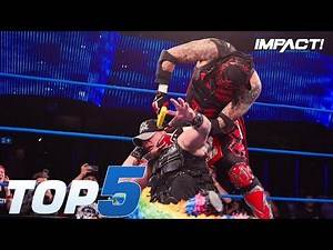 Top 5 EXTREME Moments from Sami Callihan vs Pentagon Jr DEATH MATCH | IMPACT Highlights Aug 23, 2018