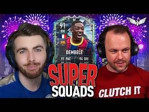 FLASHBACK DEMBELE SUPER SQUADS with @Chuffsters FIFA 21 ULTIMATE TEAM #FIFA21