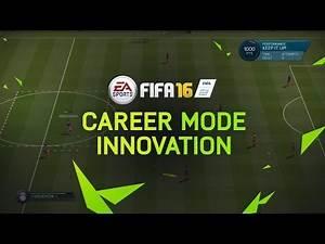 FIFA 16 Career Mode Innovations