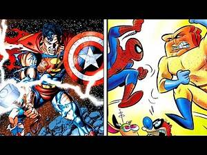 Top 10 WTF Comic Book Crossovers!