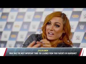 Smyths Toys Q&A with AJ Styles & Becky Lynch (Part 2)