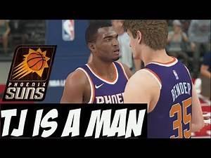 NBA 2K18 Suns MyGM   I Make A Sad Trade & Then TJ Warren Plays Like Zeus