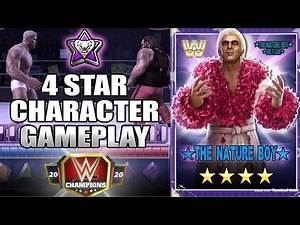 4 Star Character Gameplay, Ric Flair The Nature Boy WWE Champions