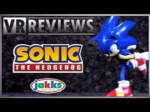 """VR Reviews: Jakks Pacific- 4"""" Bendable Sonic the Hedgehog Review"""