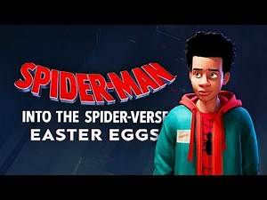 The Best Easter Eggs in SPIDER-MAN: INTO THE SPIDER-VERSE