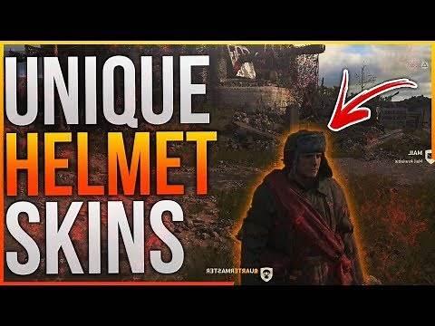 Call of Duty WW2 - How To Get Secret/Unique Helmet Skins! (CoD WW2 Helmet Skins)