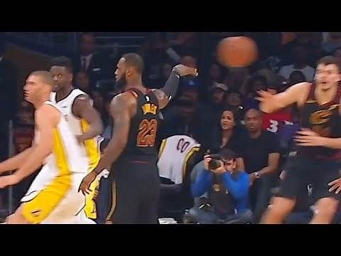 LeBron James' Best Passes of His Career