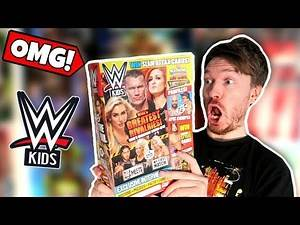 You NEED TO SEE What's Inside This WWE Kids Magazine!