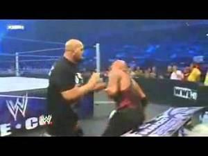WWE Smackdown 8/27/10 Big Show w Kelly Kelly vs. Luke Gallows w Serena, Joey Mercury.