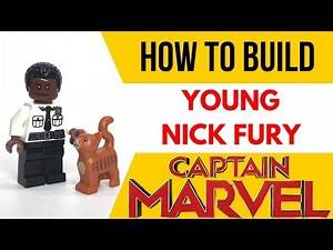 HOW TO Build YOUNG NICK FURY from Captain Marvel