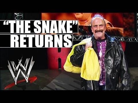 "Jake ""The Snake"" Roberts returns to WWE"